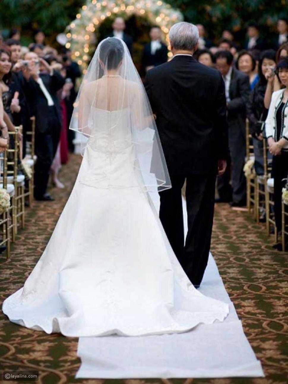 إتيكيت زفة العروس
