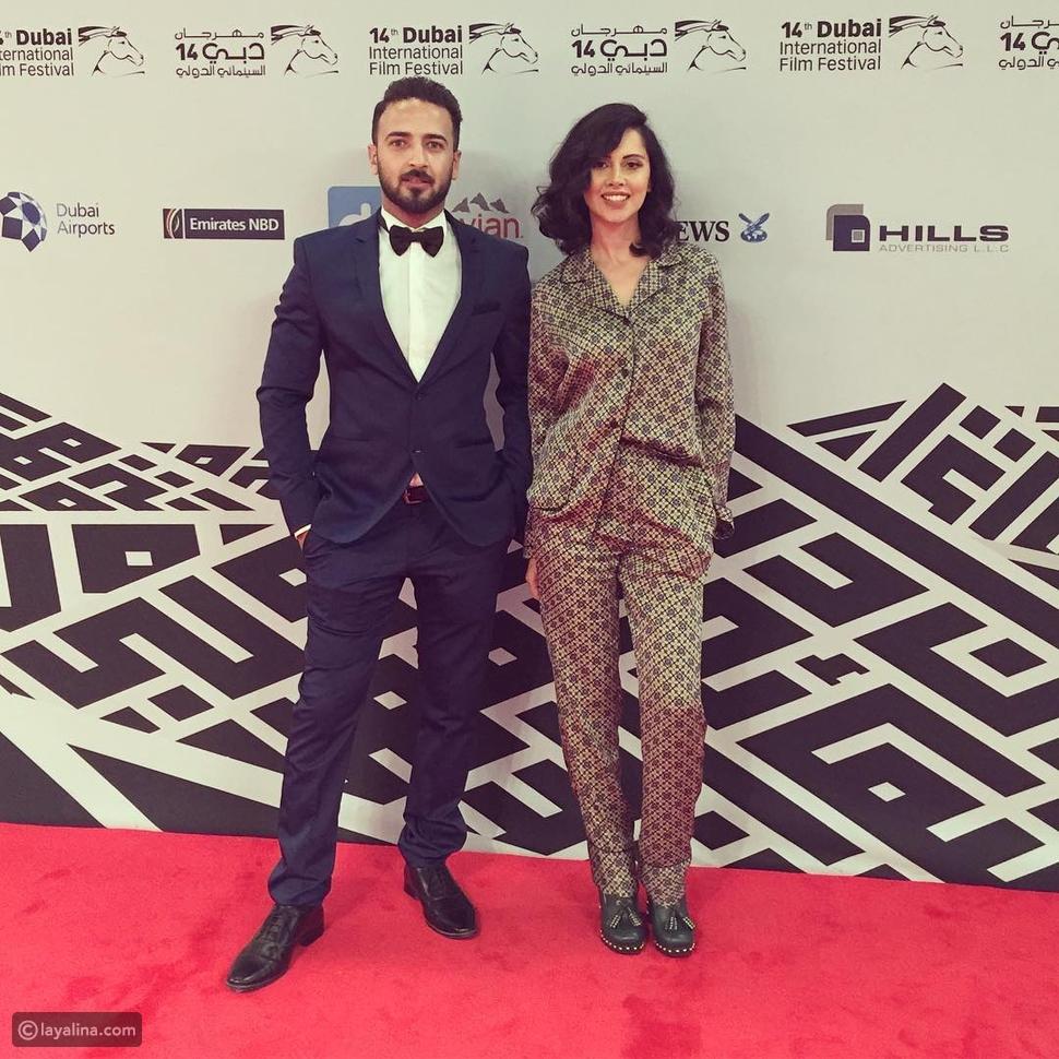 ياسمين رئيس في مهرجان دبي السينمائي الدولي