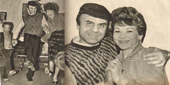 تعرفوا على الفنانة الشهيرة زوجة مصمم الرقصات الشهير حسن عفيفي في صور نادرة في شبابهما