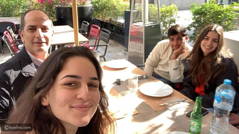 ابن هشام سليم مع شقيقتيه زين وقسمت