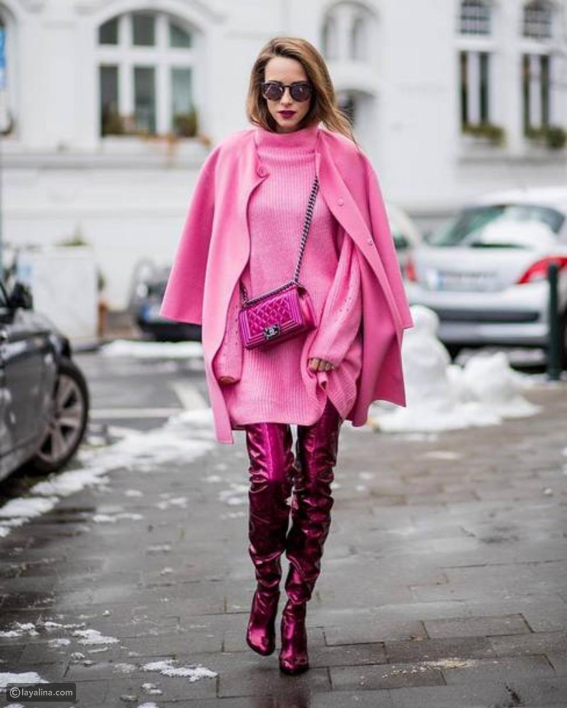الللون الوردي