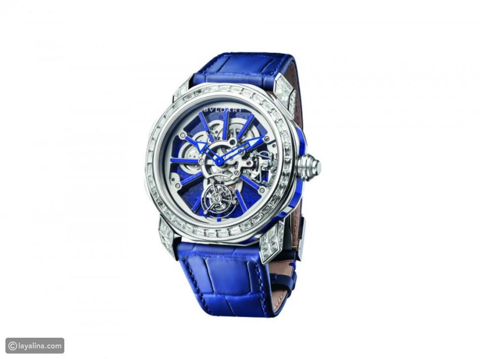 """ساعة""""Octo Roma Naturalia Lapis Lazuli"""""""