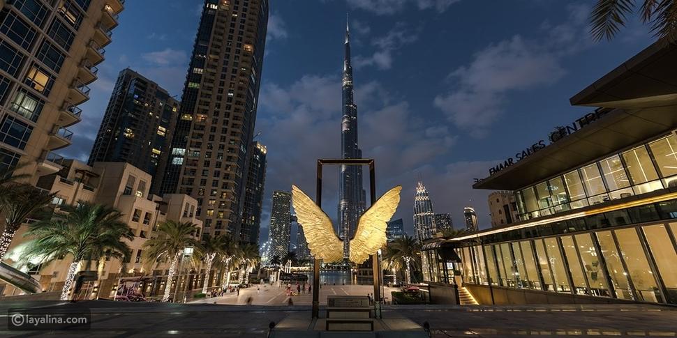 """تفضل بزيارة أحدث المعالم السياحية في """"داون تاون دبي"""""""