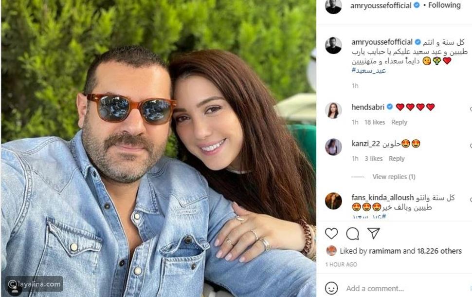 أخيرًا: عمرو يوسف يحلق لحيته بعد جدل مسلسل الملك