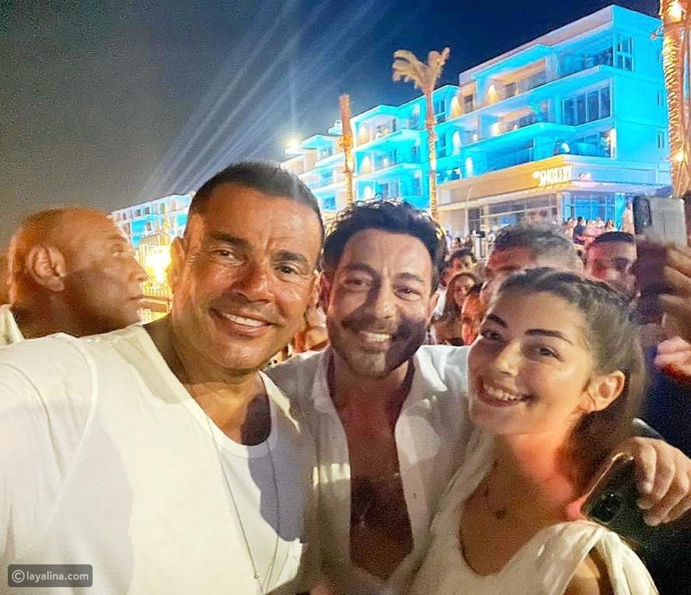 ليلى أحمد زاهر تتعرض لهجوم عنيف بسبب حفل عمرو دياب وشقيقتها ترد