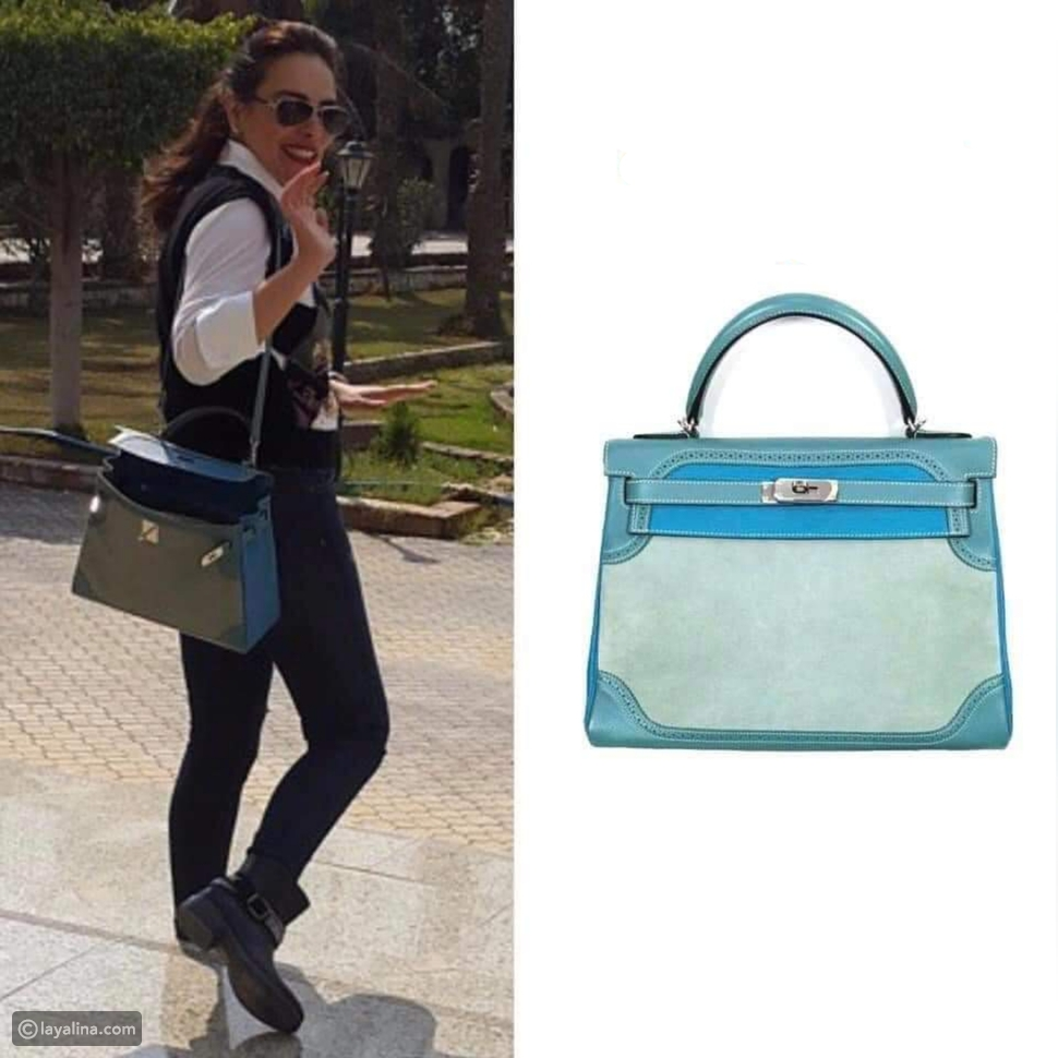 حقيبة كيلي الزرقاء very rare kelly