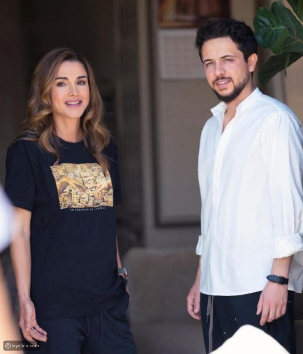 الديوان الملكي وولي العهد يهنئون الملكة رانيا بعيد ميلادها الـ51