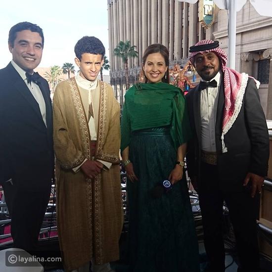صور ريا أبي راشد تتألق في حفل الأوسكار 2016 بالرغم من الحمل إليك تفاصيل إطلالتها