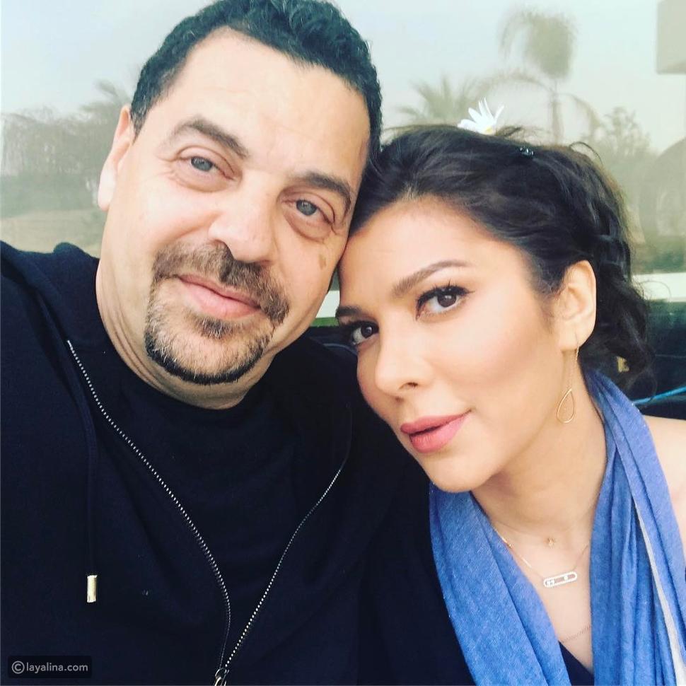 طارق العريان وزوجته المطربة أصالة في عيد زواجهما