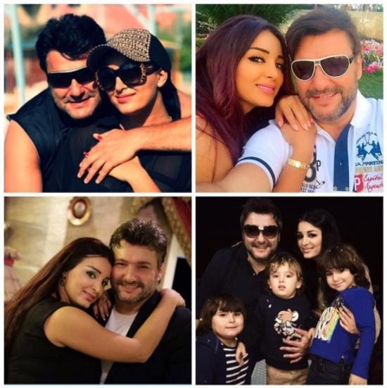 صورة:علاء زلزلي يعايد زوجته وينشر صورة نادرة لها ولأولاده !!