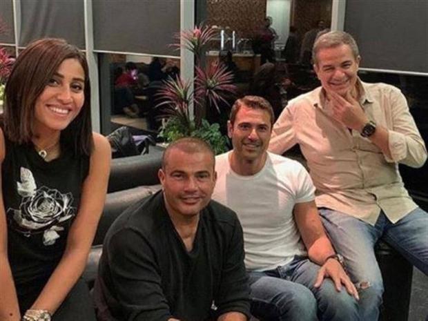 عمرو دياب يحدث أزمة في مسلسل دينا الشربيني