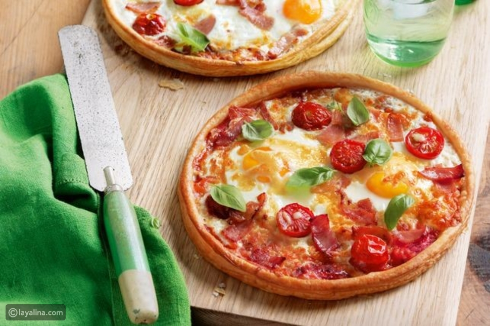تارت البيتزا، بيتزا تارت