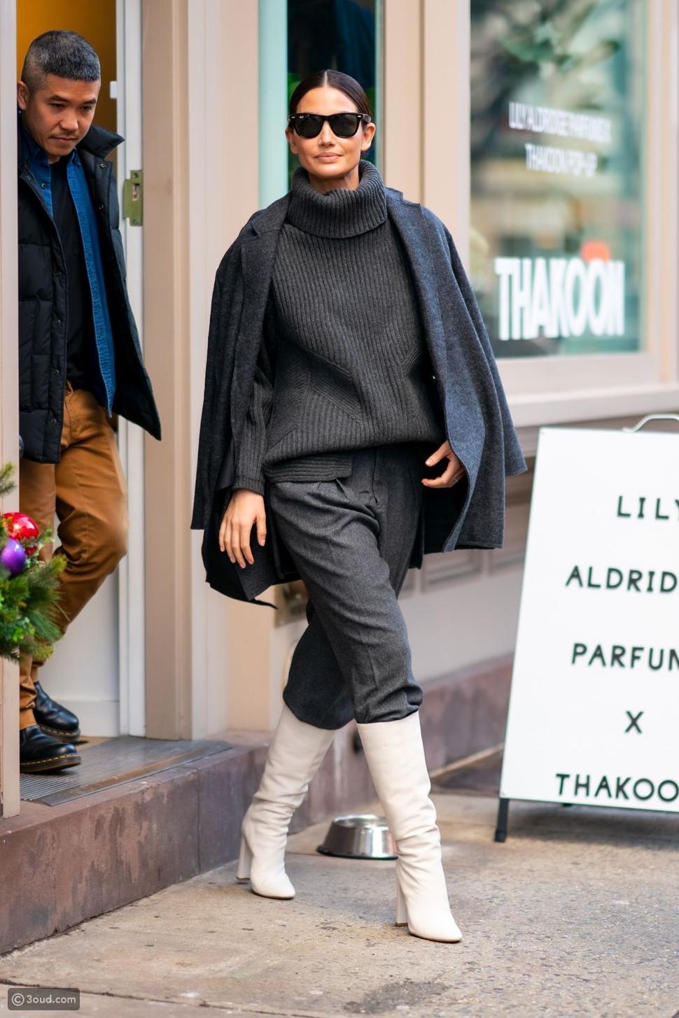 عارضة الأزياء ليلى ريدجLily Aldridge