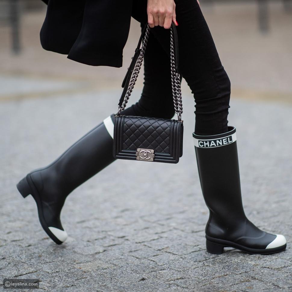 أحذية بوط مطاطيةrubber boots
