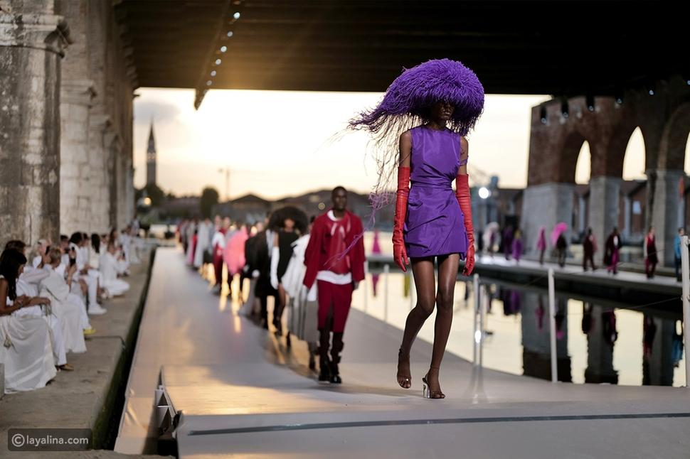 الجمال الساحر لمدينة البندقية فيمجموعة Valentino هوت كوتور 2021