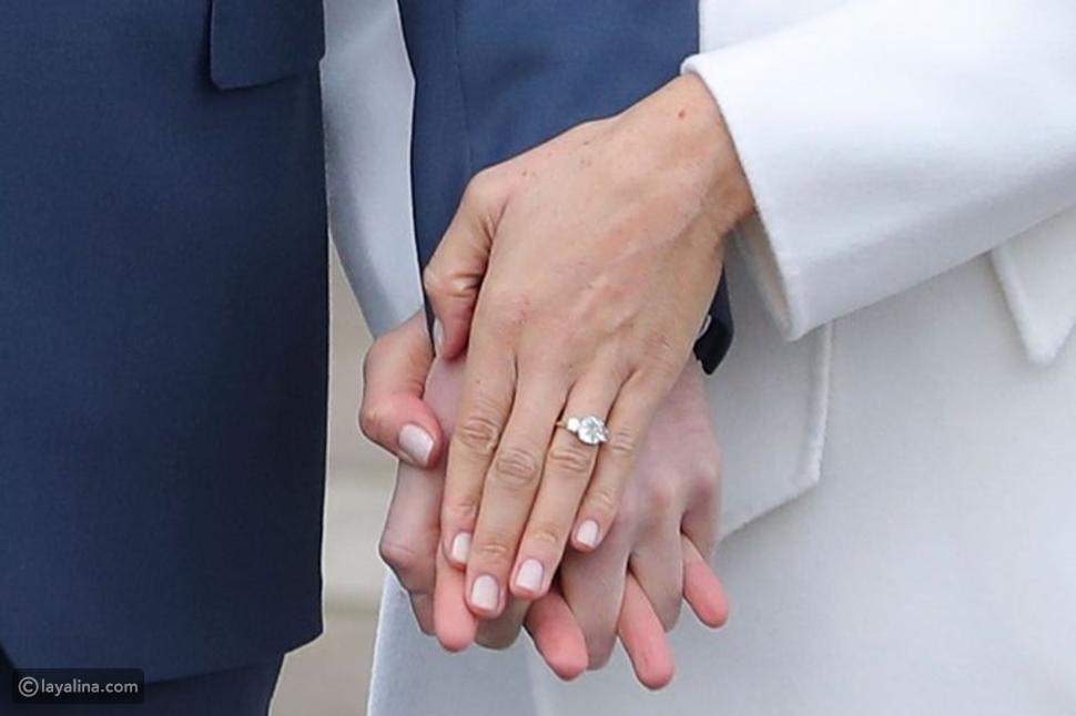 خاتم خطوبة الأمير هاري لميغان ماركل