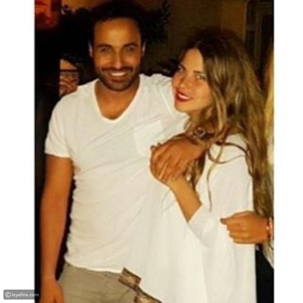 شاهدوا منة حسين فهمي وزوجها أحمد فهمي في صور رومانسية وإطلالة متطابقة تشعل انستقرام ليالينا