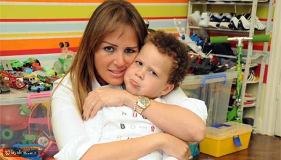 صور نجلاء بدر خطفت خطيبها محمد عفيفي من هذه الإعلامية المصرية الشهيرة التي له منها طفل