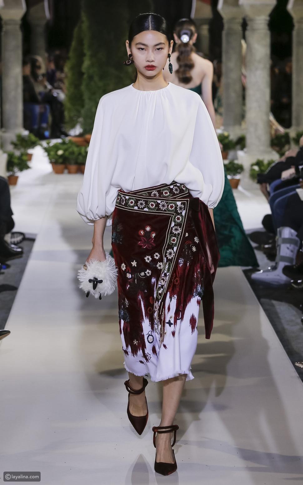 """التنانير الملفوفة """"Wrap skirts"""""""