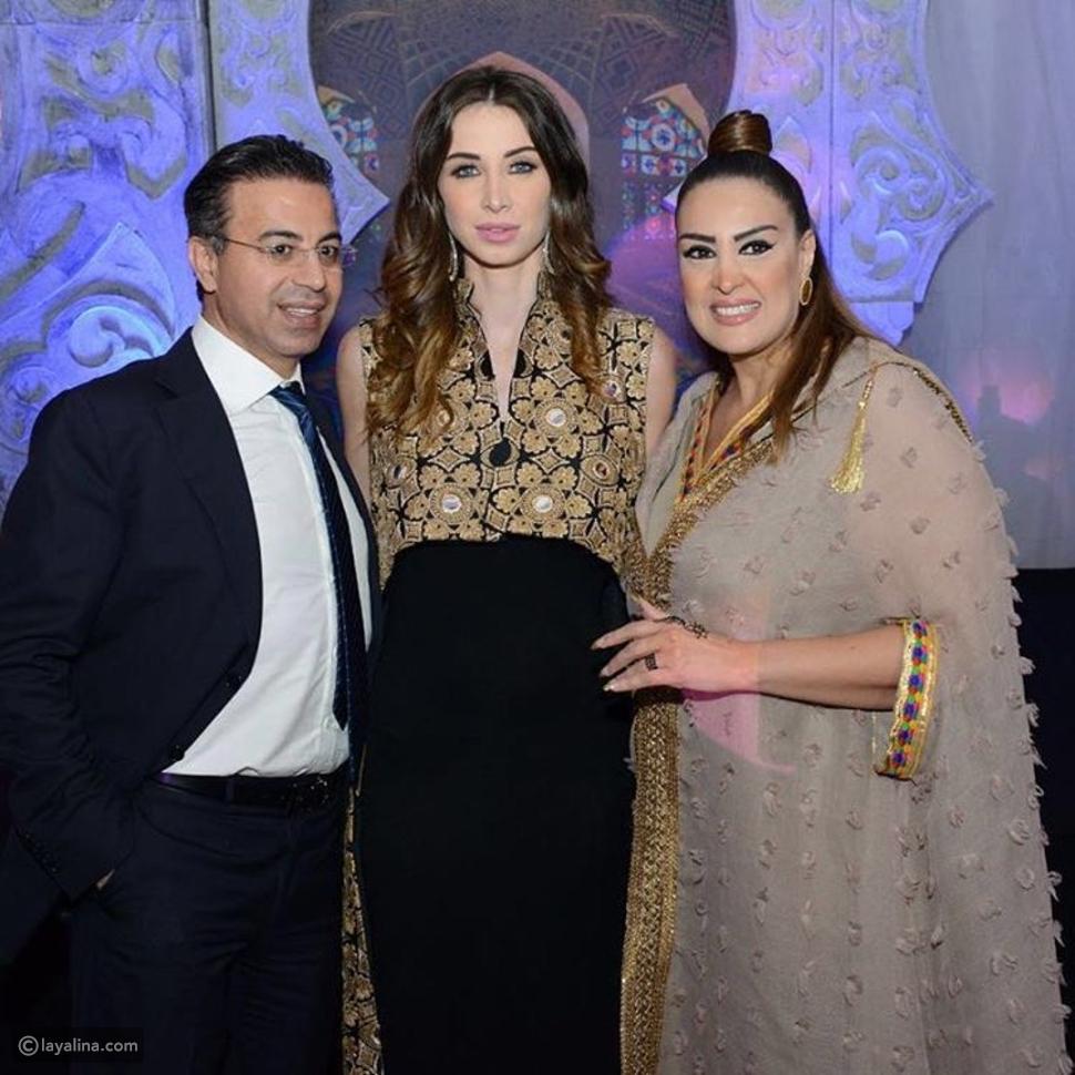 أنابيلا هلال في الكويت بإطلالة رمضانية ساحرة من دار أزياء ترتر