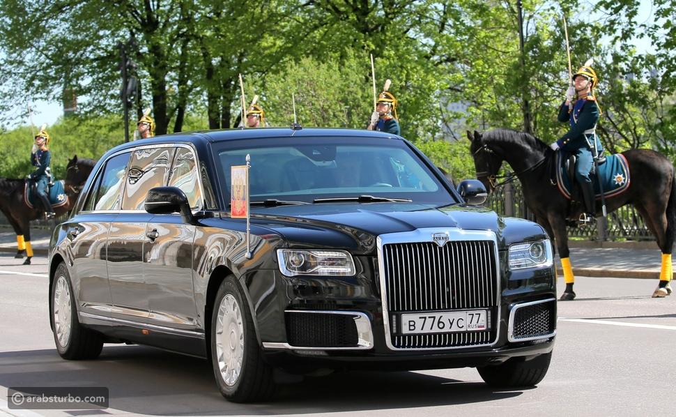 أسرار سيارة فلاديمير بوتين رئيس روسيا