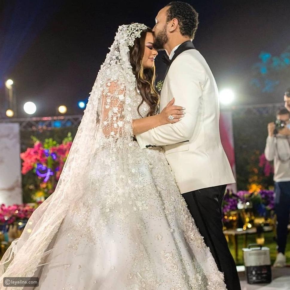 فستان زفاف هناي مهنا