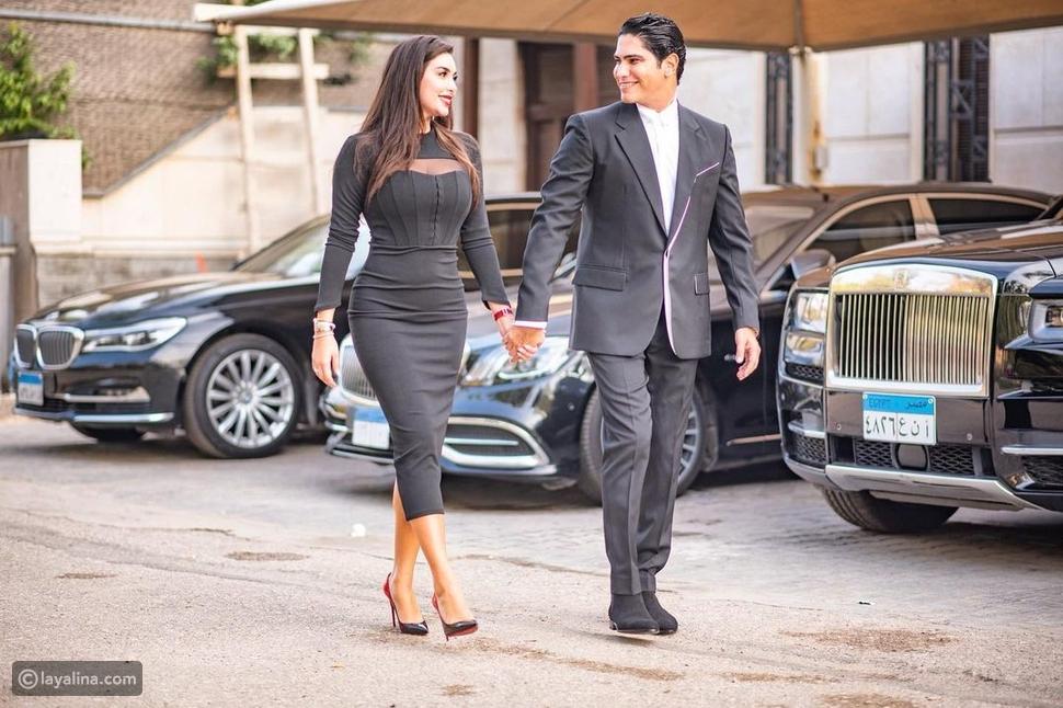 ياسمين صبري تخطف الأنظار بأسطول سيارتها وإطلالة رومانسية مع أبو هشيمة