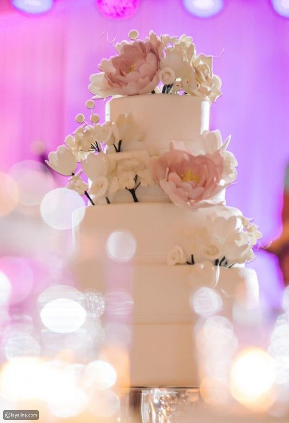 ما رأيكِ بهذه الكيكة ذات اللون الوردي الفاتح؟
