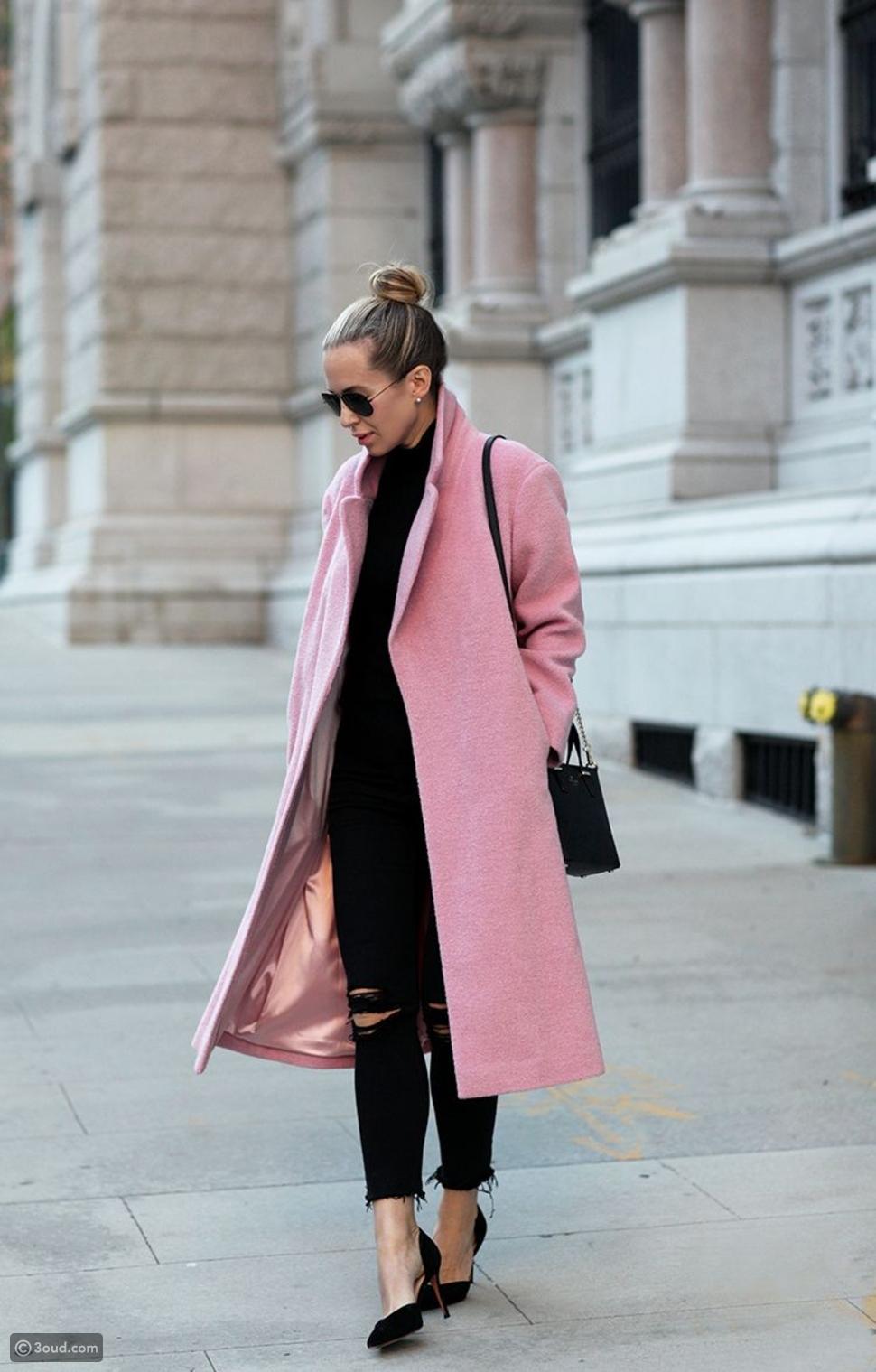 معطف ملون