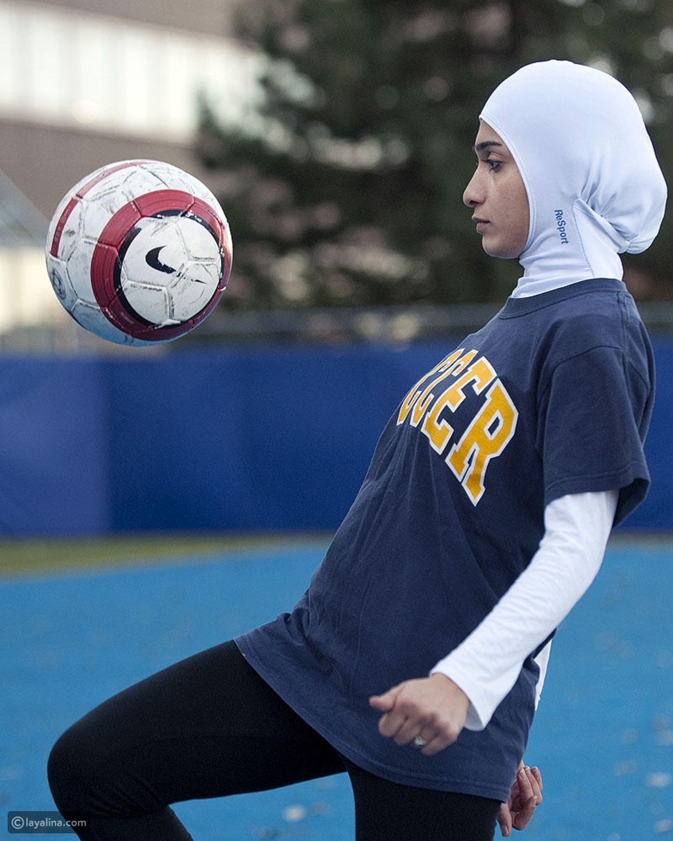 Sporty Look In Hijab