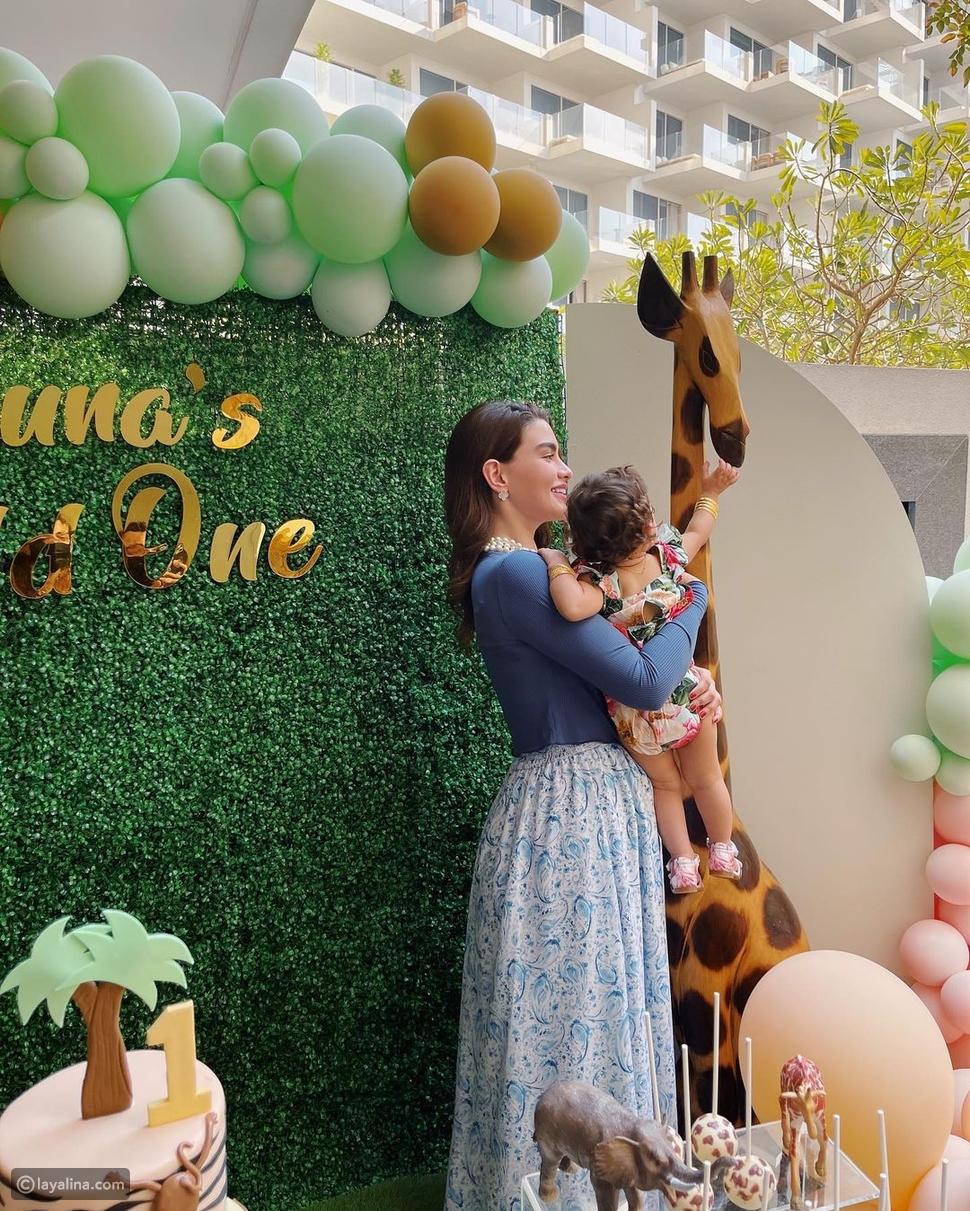 روان بن حسين تحتفل بعيد ميلاد ابنتها وتتحدث عن تجربتها كأم عزباء