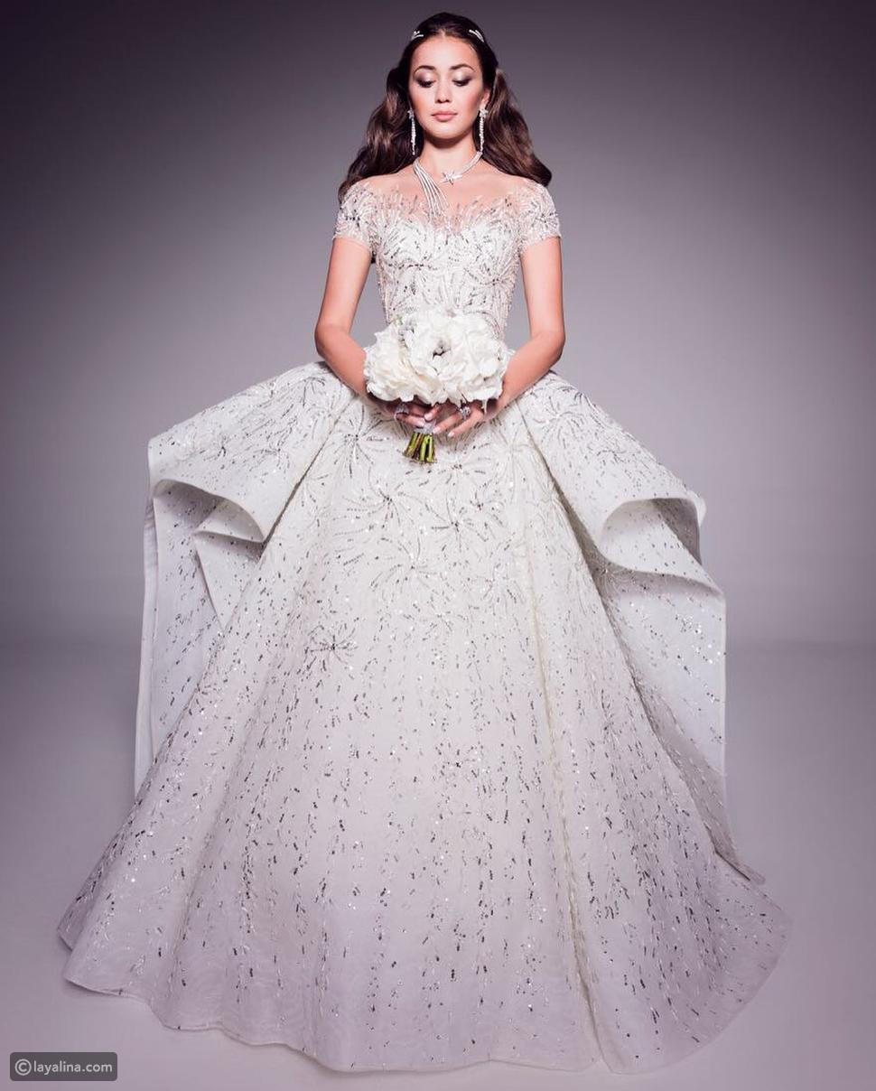 فستان زفاف من تصميم زهير مراد
