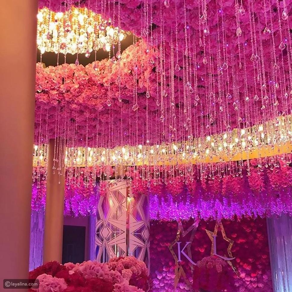 حفل زفاف خيالي