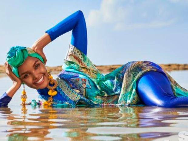 صور الحسناء الصومالية قد تم التقاطها على شاطئ واتامو في كينيا