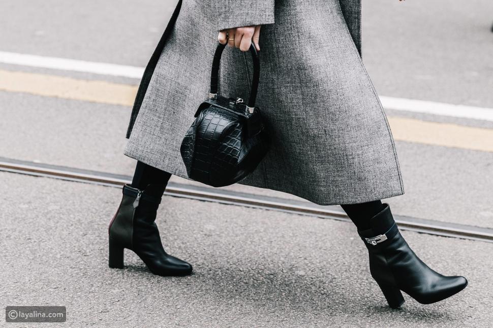 أحذية الكاحل الشتوية