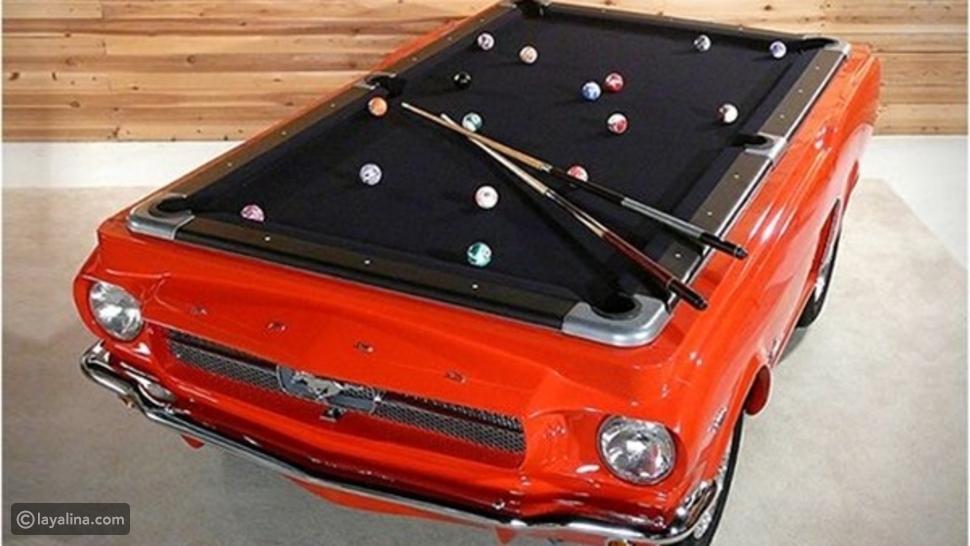 طاولات بلياردو على شكل سيارات أحدث موضة في 2020