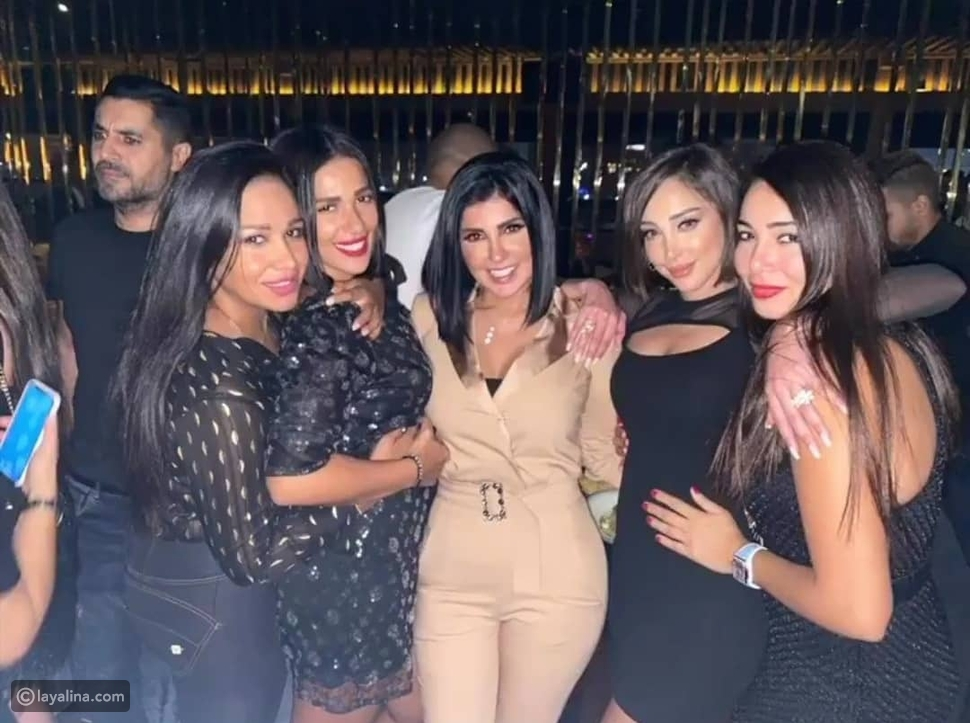 بسمة بوسيل في حفل ألبوم تامر حسني