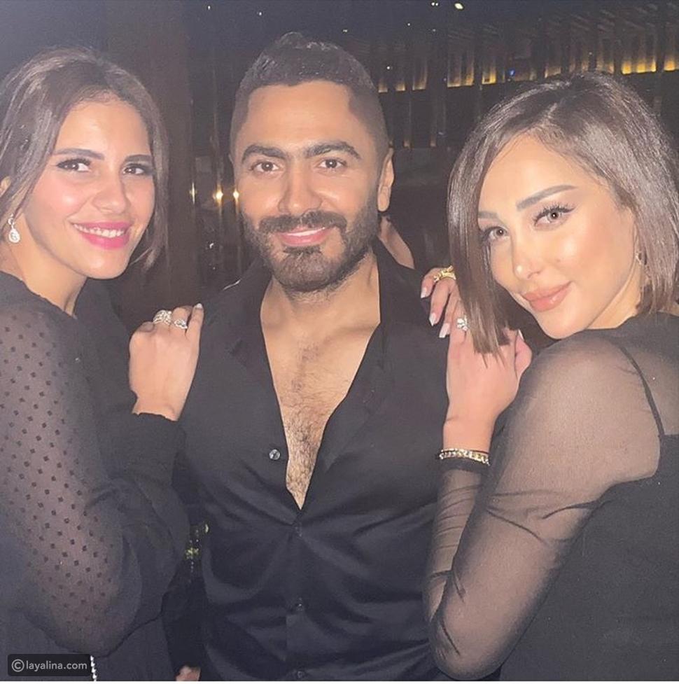 حفل ألبوم تامر حسني