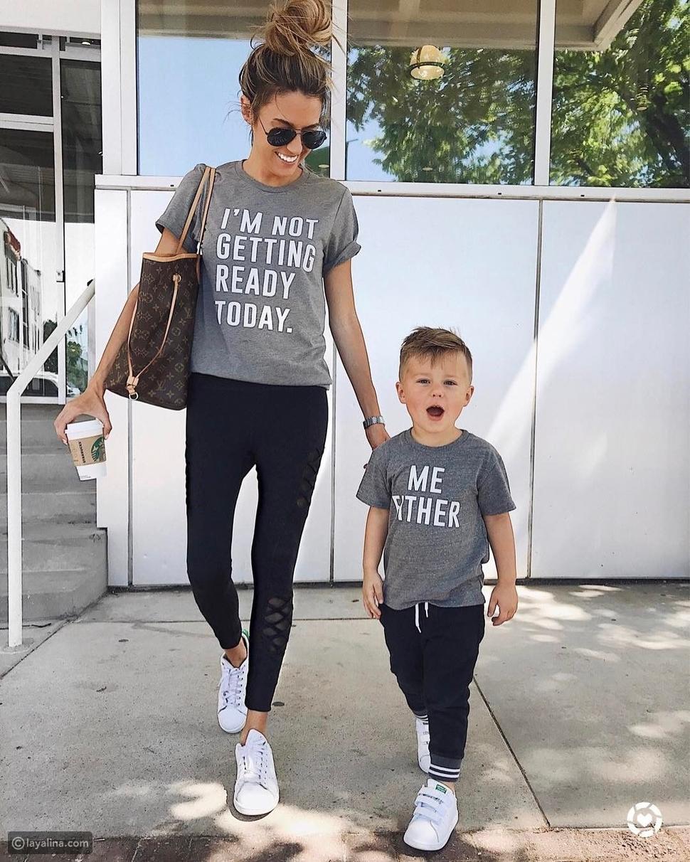 أزياء الأم وطفلها