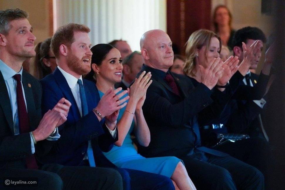الأمير هاري وميغان ماركل في أول ظهور بعد تخليهما عن الحياة الملكية
