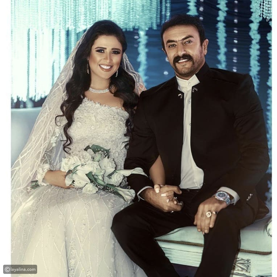 تفاصيل فستان زفاف ياسمين عبد العزيز في اللي مالوش كبير