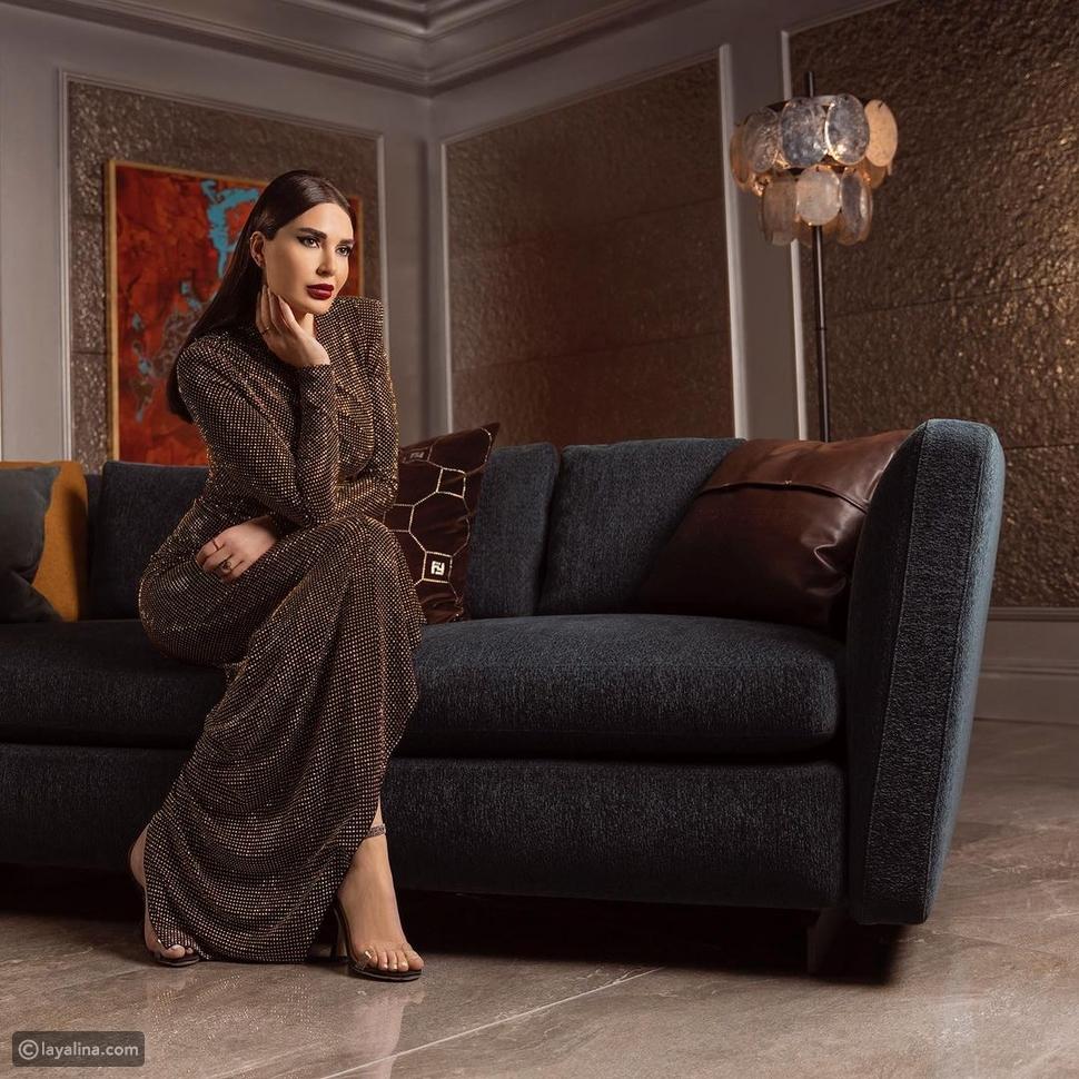 سيرين عبد النور تعيد ارتداء فستان ظهرت به وفاء الكيلاني من قبل