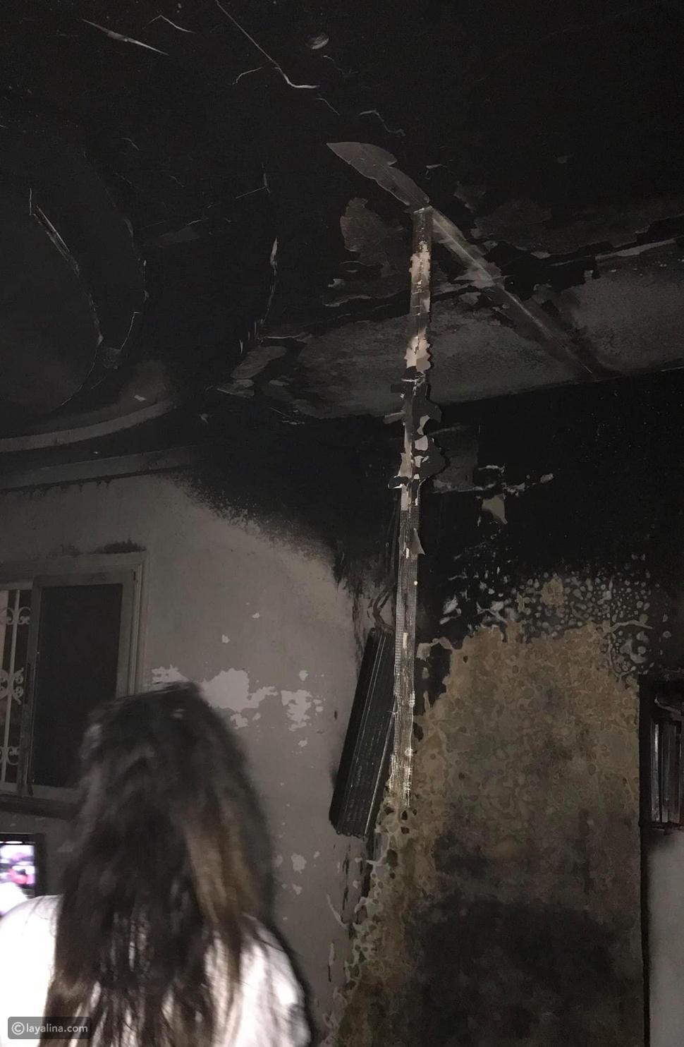 نجاة ابنة أحمد بدير من الموت بعد حريق في منزلها