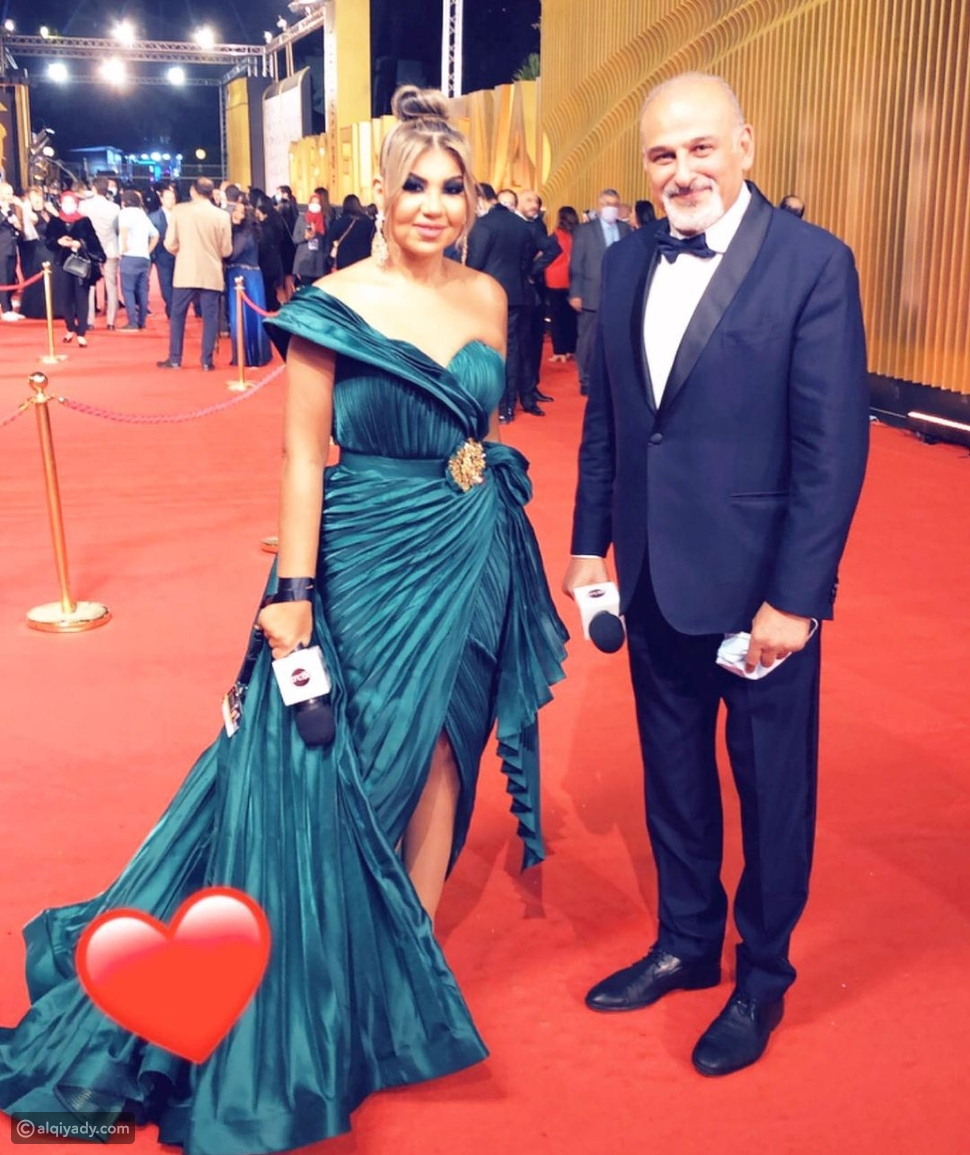 جمال سليمان يإطلالة كلاسيكية في افتتاح مهرجان القاهرة السينمائي