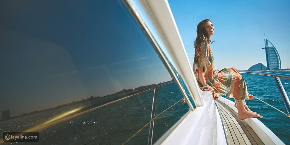 رحلة بحرية على متن يخت خاص في دبي