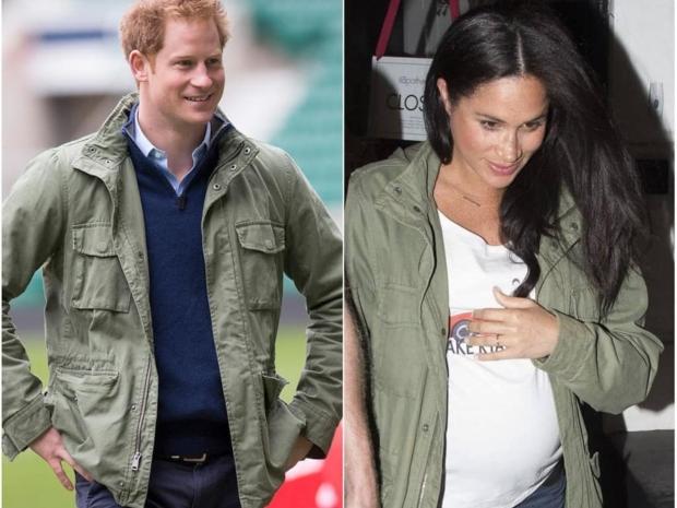 الأمير هاري وزوجته ميغان ماركل بنفس الإطلالة