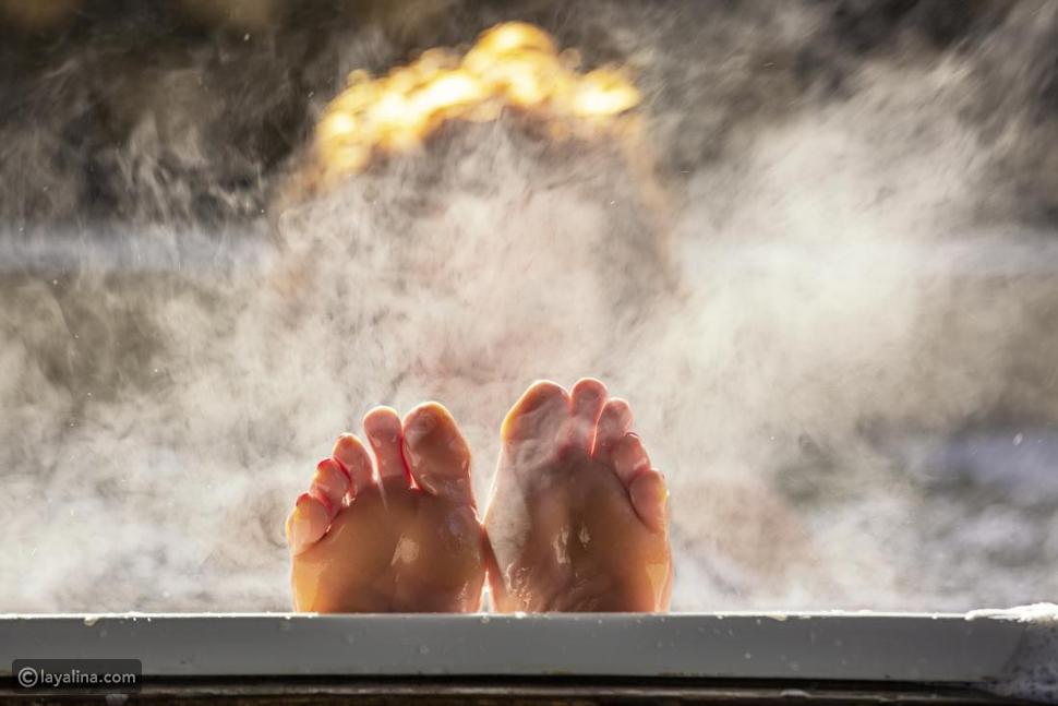 فوائد الحمام الساخن