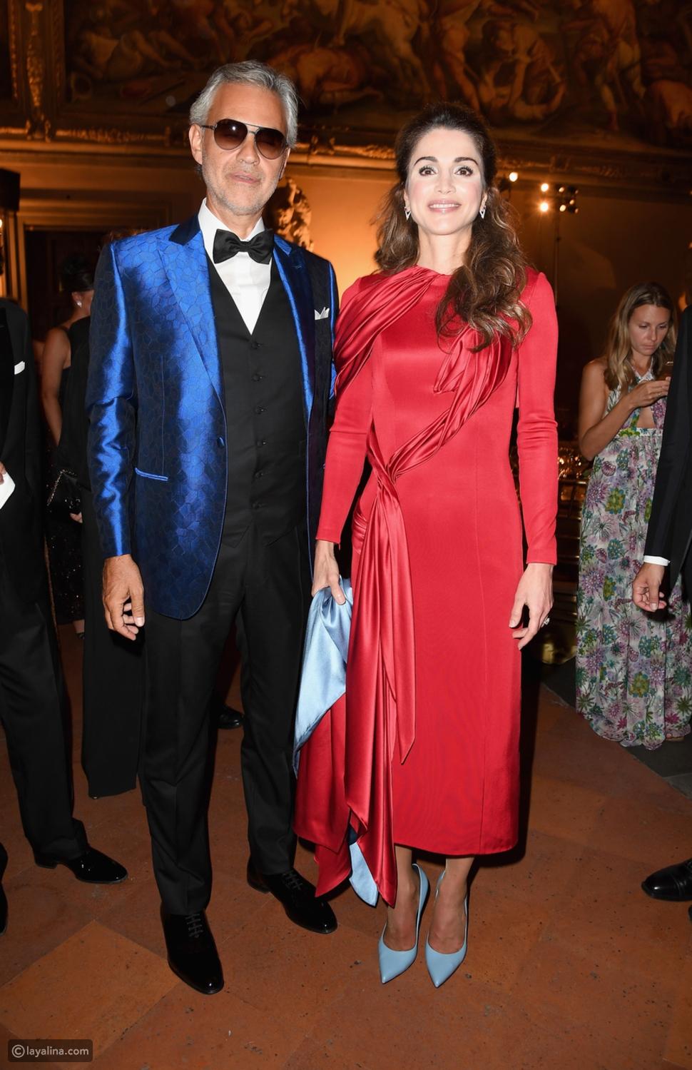 الملكة رانيا...ملكة الأناقة