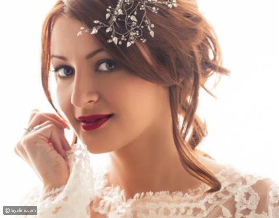 مكياج العروس الحنطية بالخطوات بألوان تناسب بشرتها