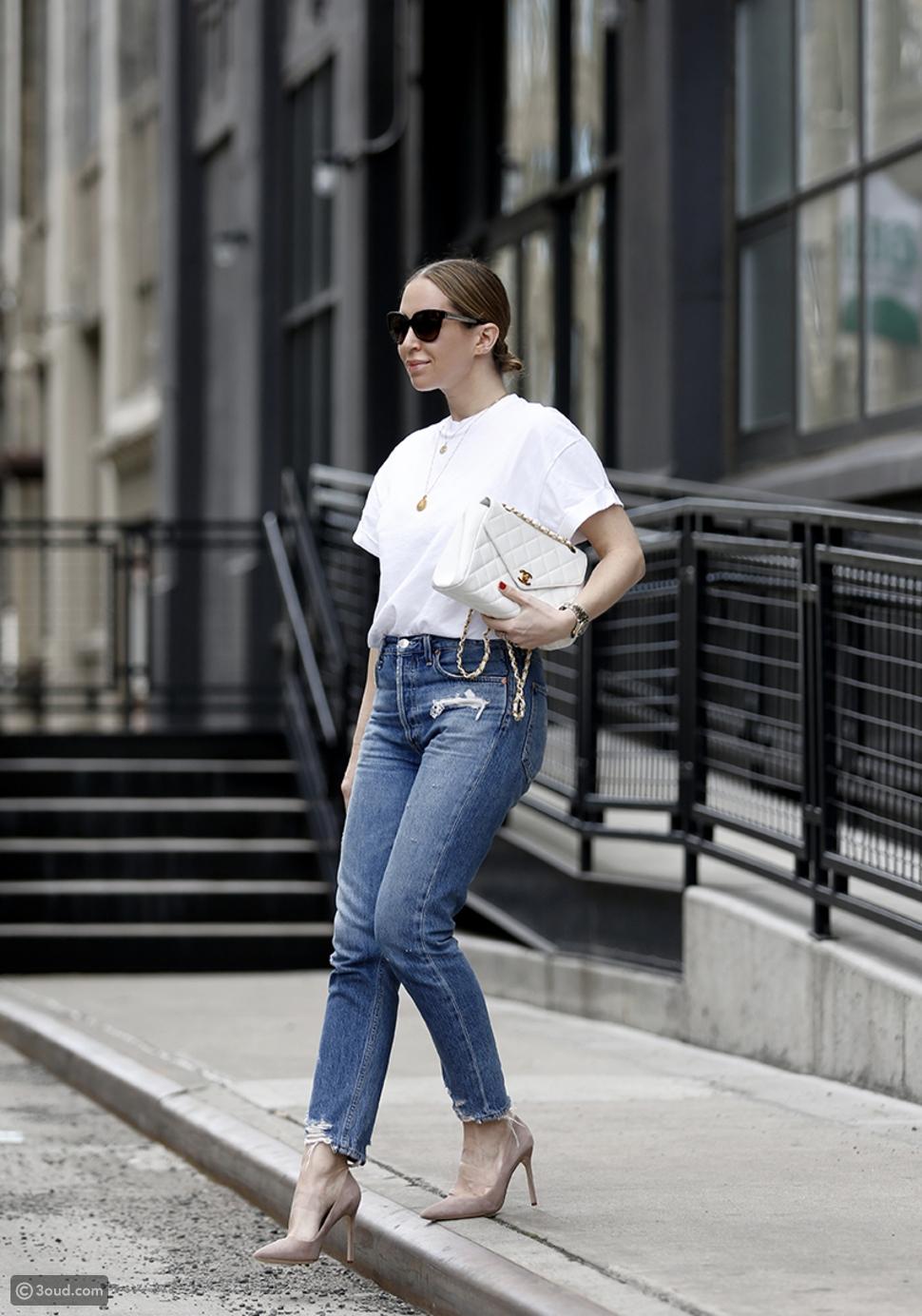 التيشرتات البيضاء،قطعة أساسية في خزانة ملابسك